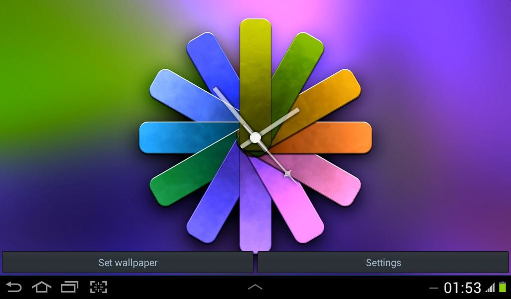 Clock Wallpapers Real Time Free Android Live Wallpaper