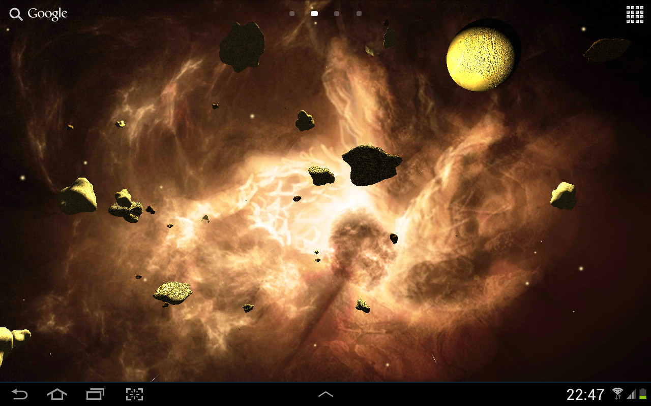 3d Live Wallpapers Free Download For Ipad: Asteroids 3D Live Wallpaper Free Android Live Wallpaper