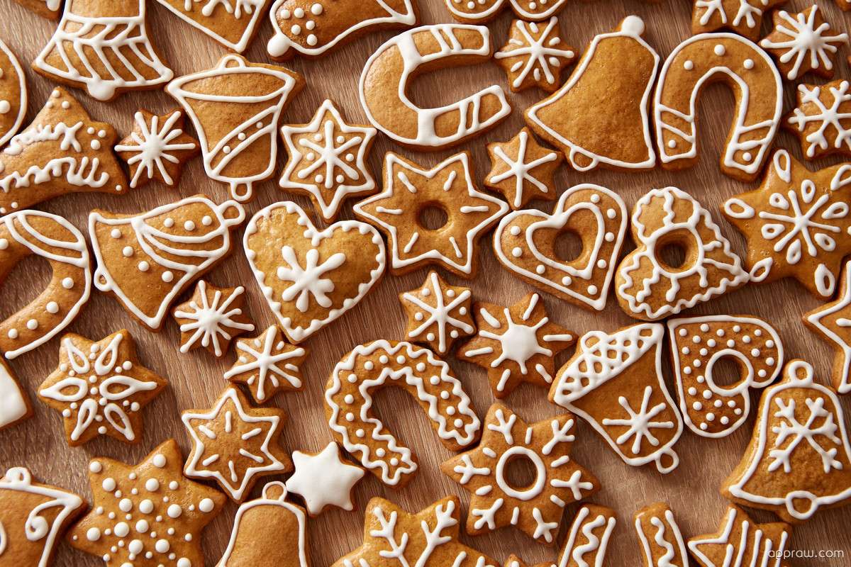 christmas gingerbread wallpaper download christmas hd