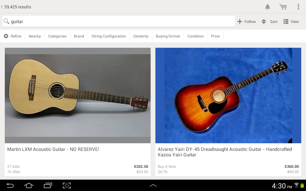 eBay APK Free Shopping Android App download - Appraw