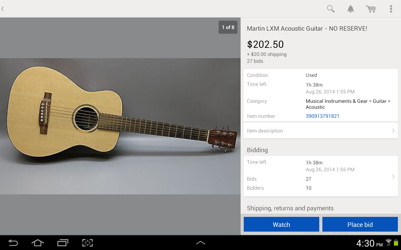 ebay app download for android