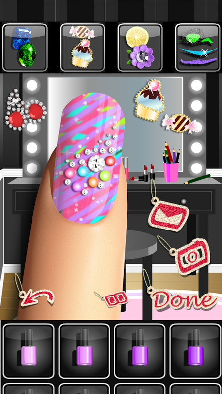 Nail salon games for girls apk free casual android game for A nail salon game