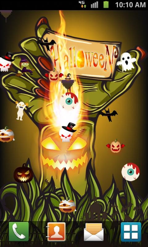 halloween live wallpaper free android live wallpaper