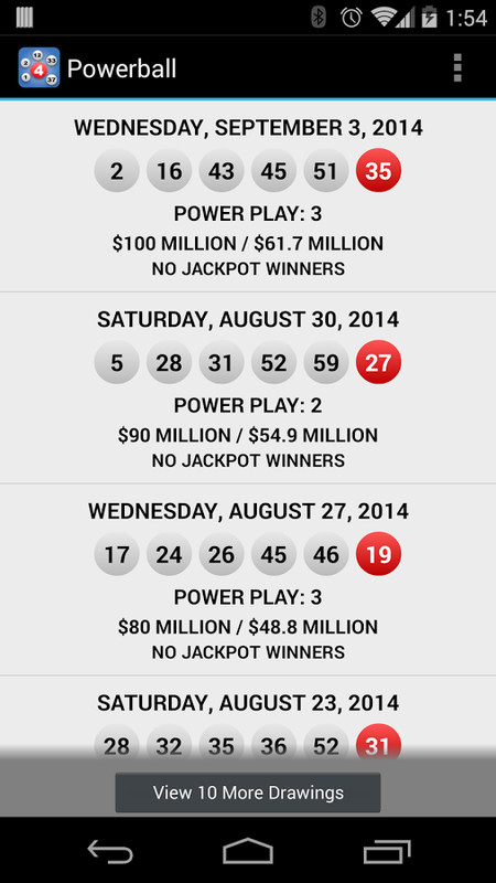 Lotto Results Lottery Games Apk Free Android App