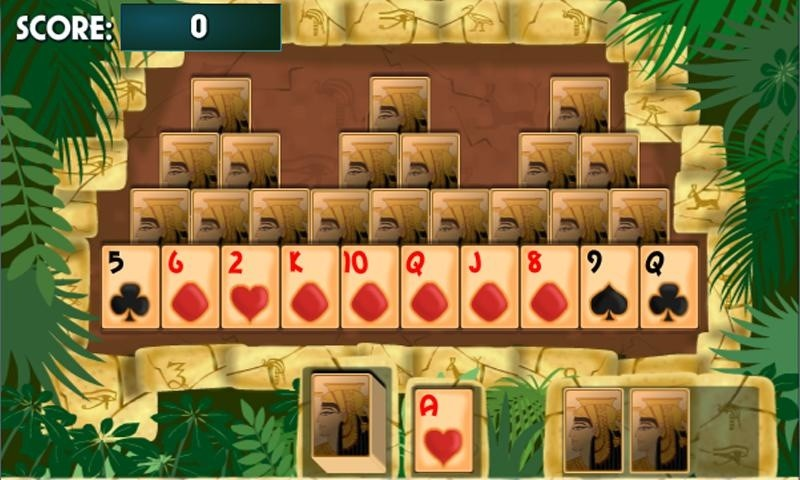 free games pyramid cards