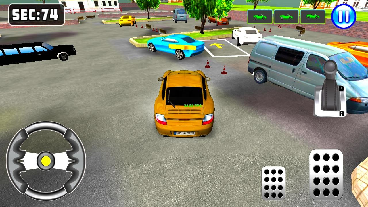 Parking Mania - Free online games at Agame.com