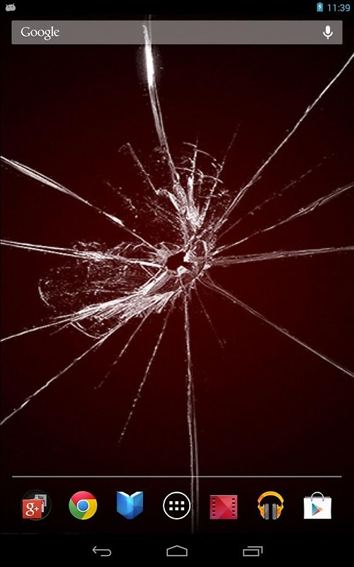 Cracked Screen Live Wallpaper Free Android Live Wallpaper ...