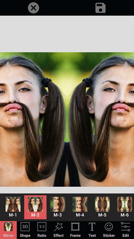 mirror photo collage free