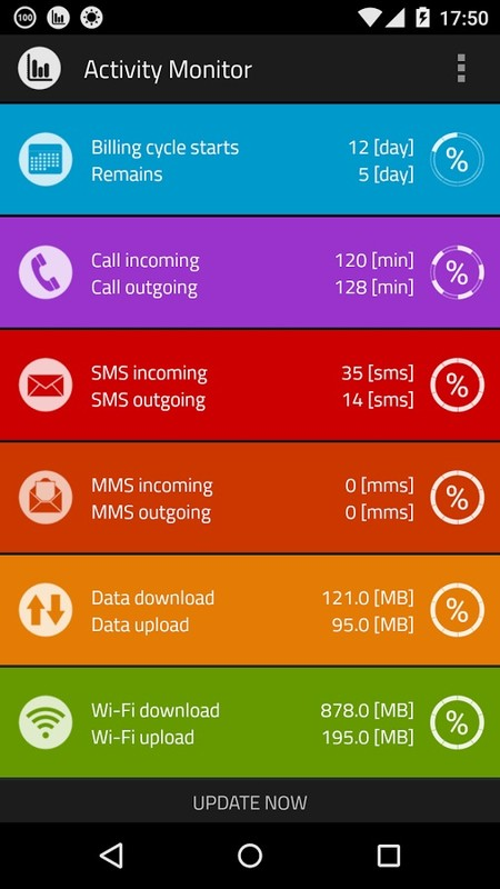 Call sms data monitor counter APK Free Tools Android App