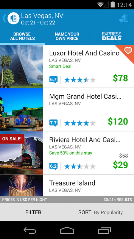 Priceline Hotels & Travel APK Free Android App download ...
