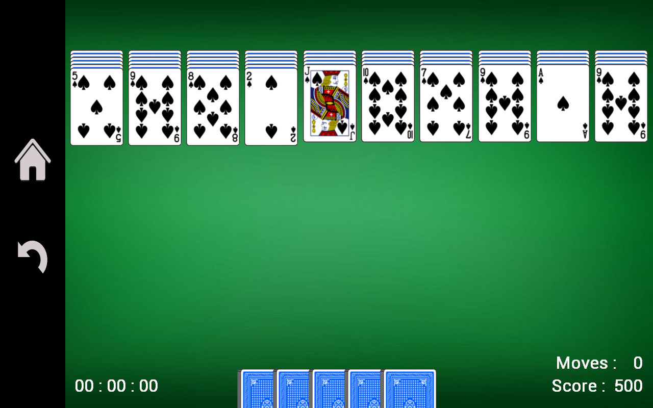 spider solitaire on line free