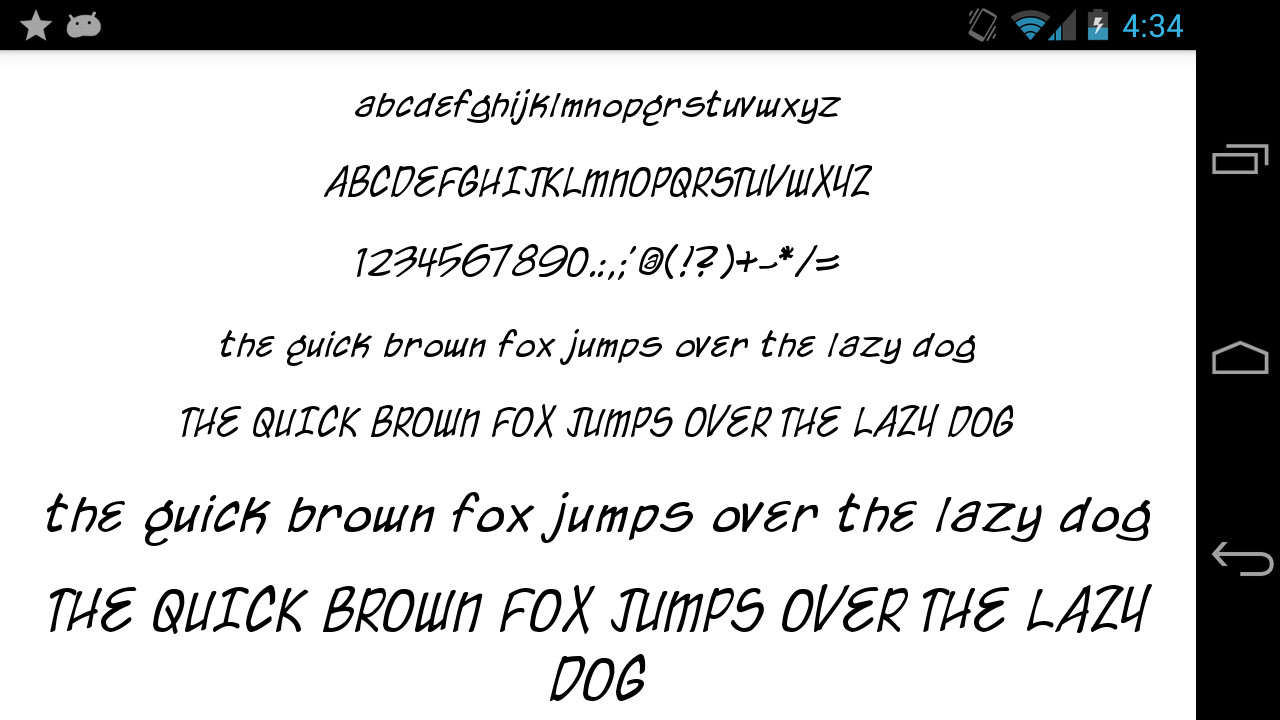 Download Fonts for FlipFont 50 Written APK Free Android App ...