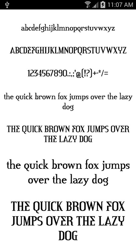 Download Fonts for FlipFont 50 #6 APK Free Android App download ...