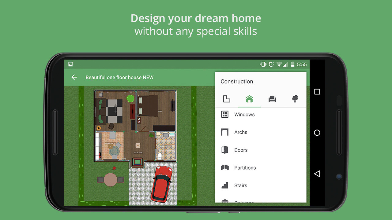 Planner 5d home design apk free android app download - Design your home app ...