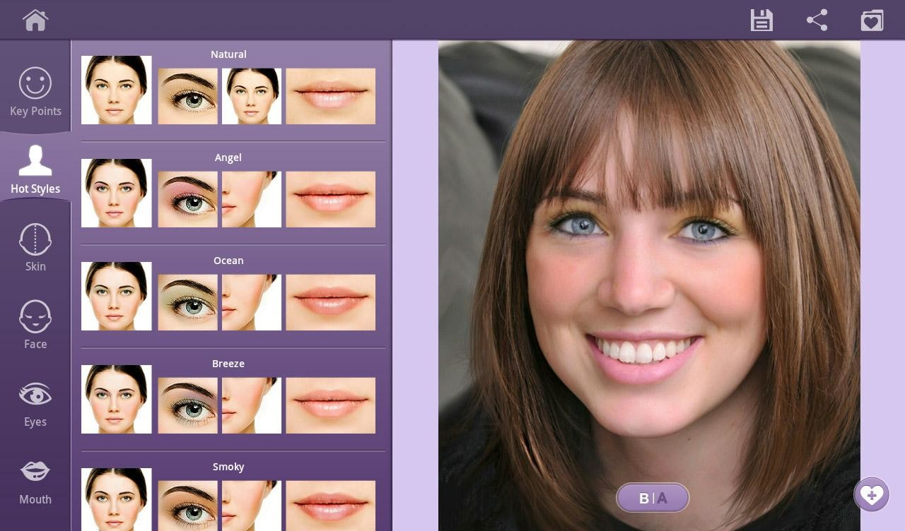 Amazing ... Perfect365: One Tap Makeover ...