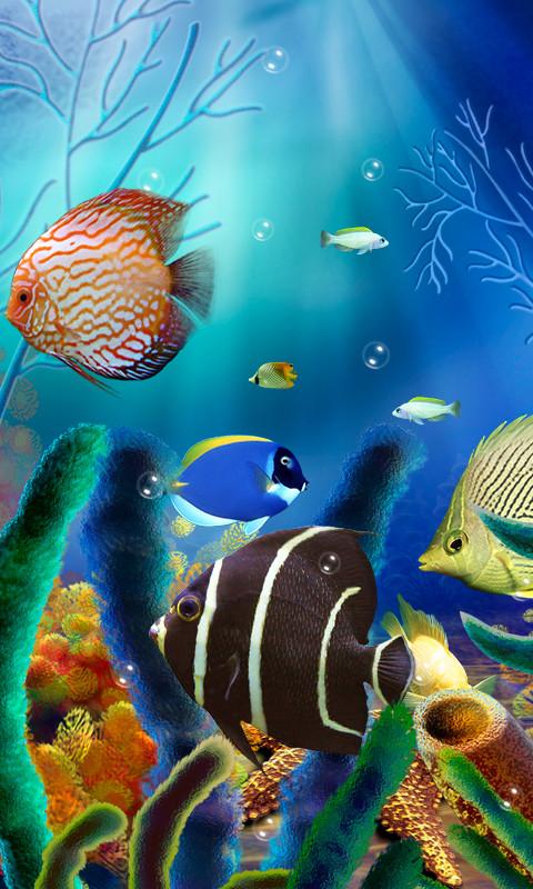 aquarium live wallpaper full apk