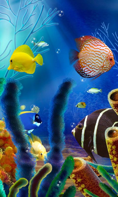 Aquarium Live Wallpaper (free) Free Android Live Wallpaper ...
