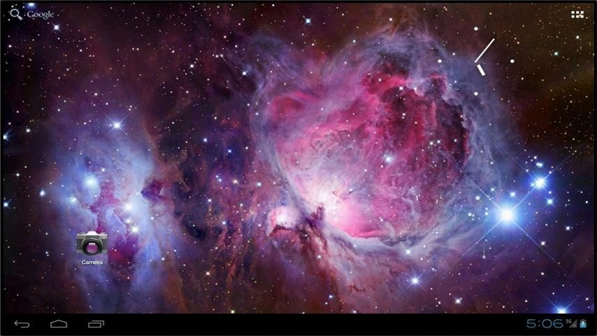 Live Space Wallpaper FREE Free Android Live Wallpaper ...