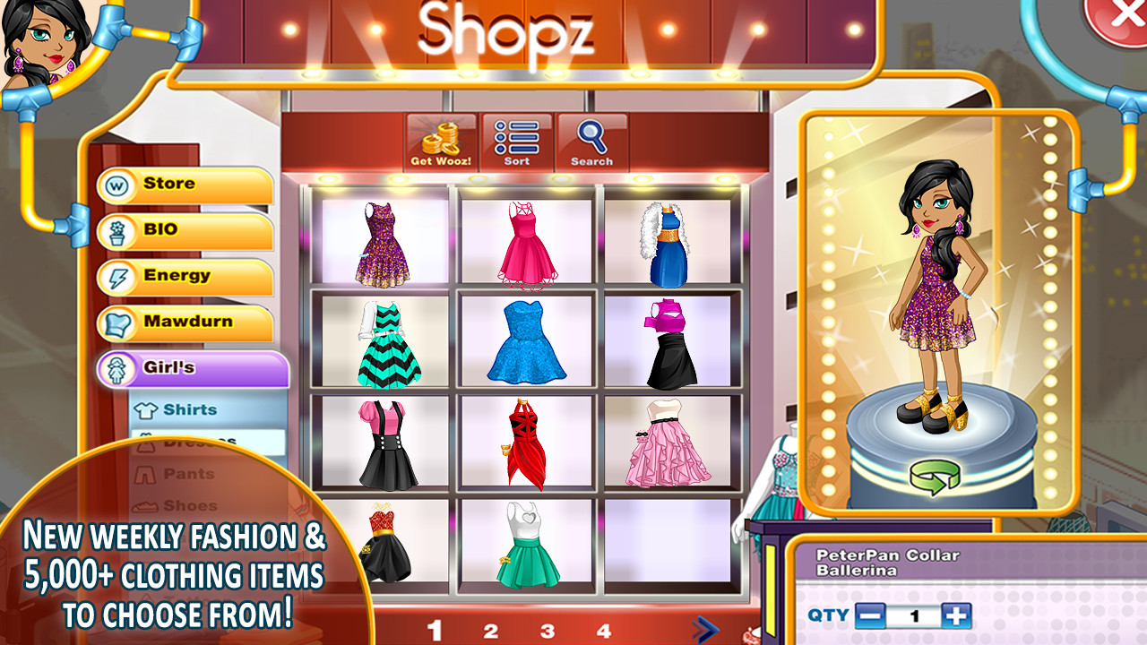 Character Design Apps For Android : Woozworld fashion fame mmo apk free social android app