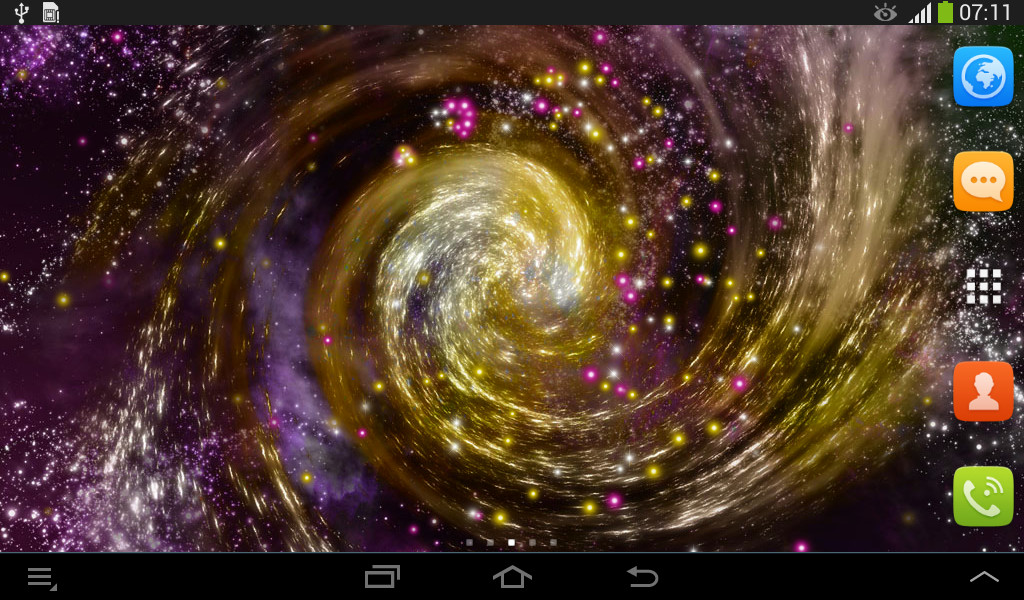 galaxy live wallpaper free android live wallpaper download