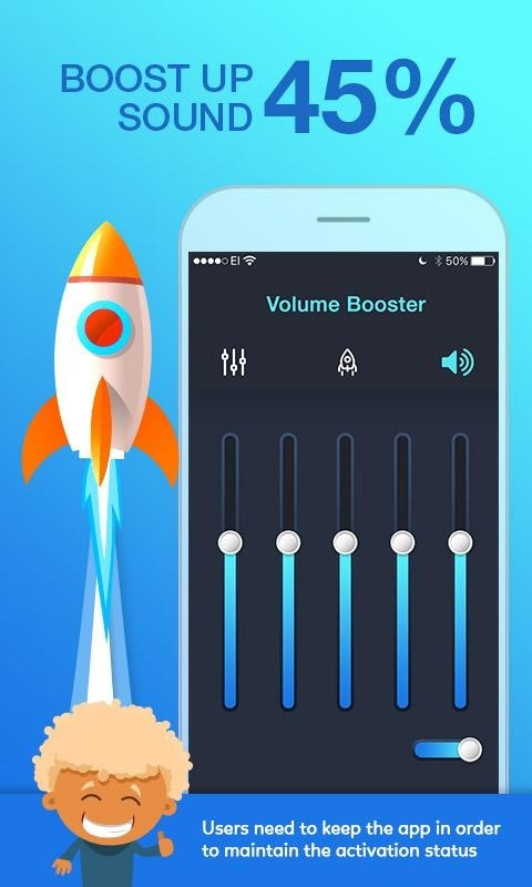 Volume Amplifier and Booster APK Free Tools Android App