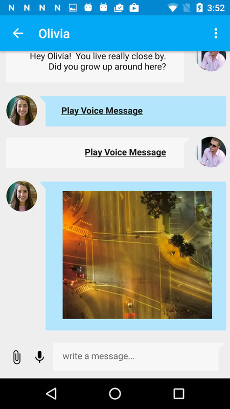 Nearby live chat