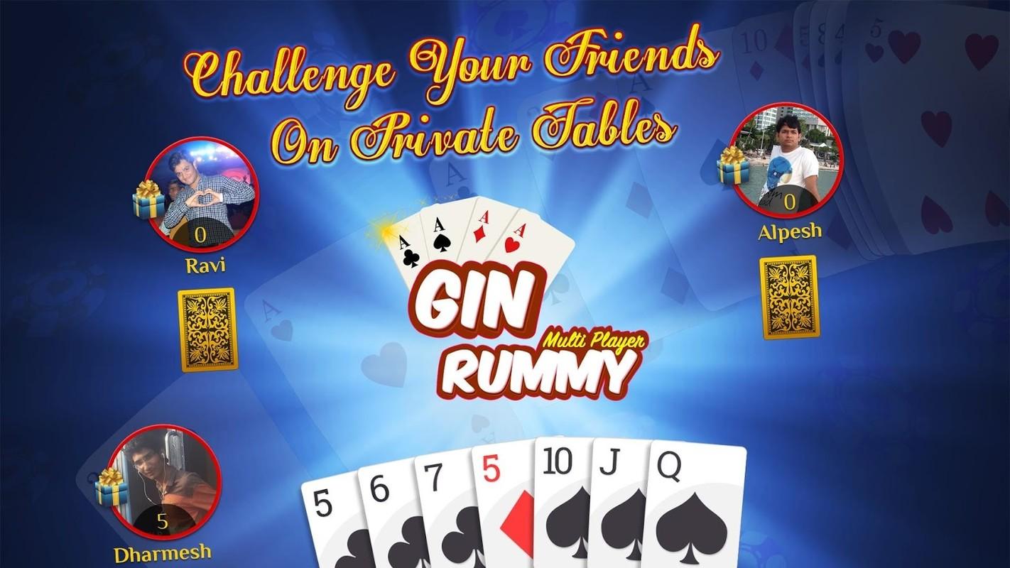 online gin games
