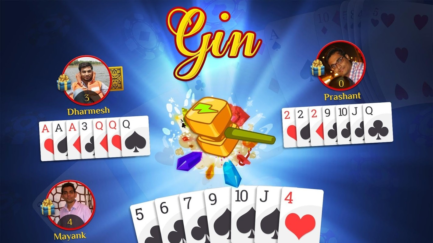 play gin online free