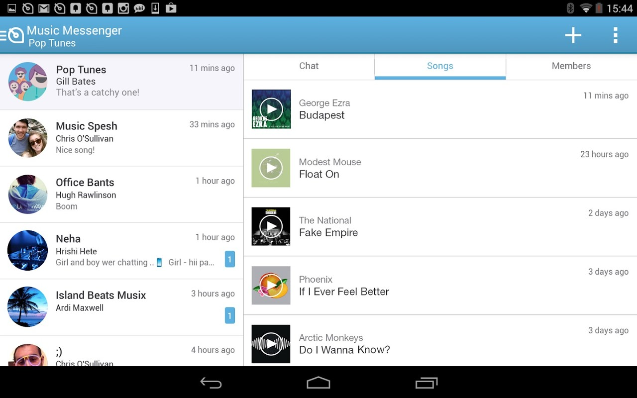Soundwave Chat Amp Share Music Apk Free Android App