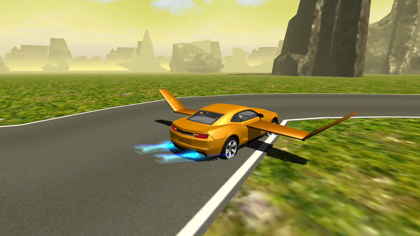 Flying muscle car simulator 3d apk free simulation android for Simulatore 3d