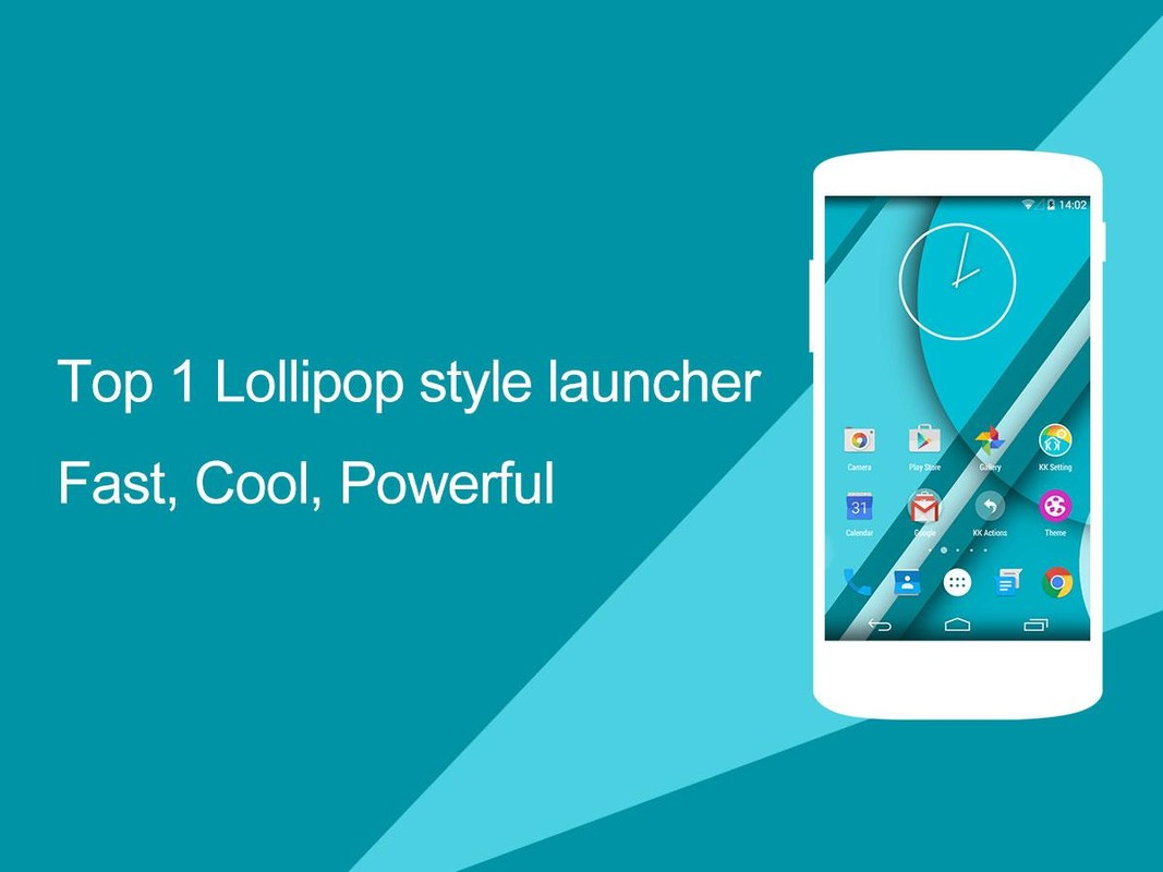 KK Launcher (Lollipop &KitKat) APK Free Android App download - Appraw
