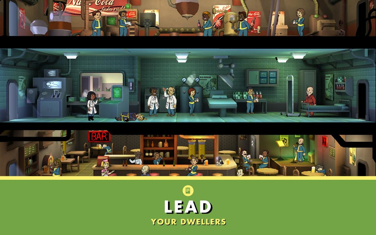 Fallout Shelter APK Free Simulation Android Game download