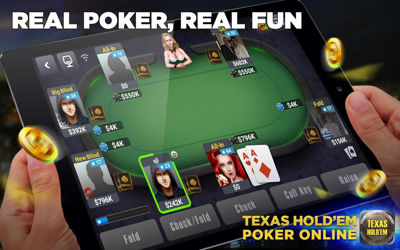 texas holdem poker online android