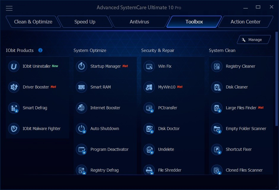 Download Advanced SystemCare Ultimate for Windows 10,7,  ...