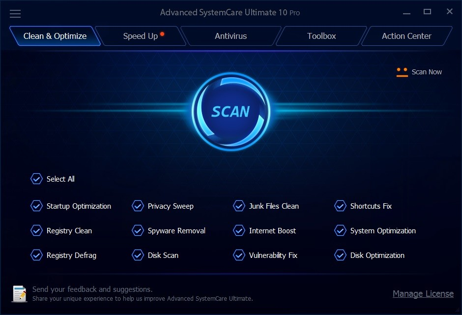 advanced system care ultimate 10