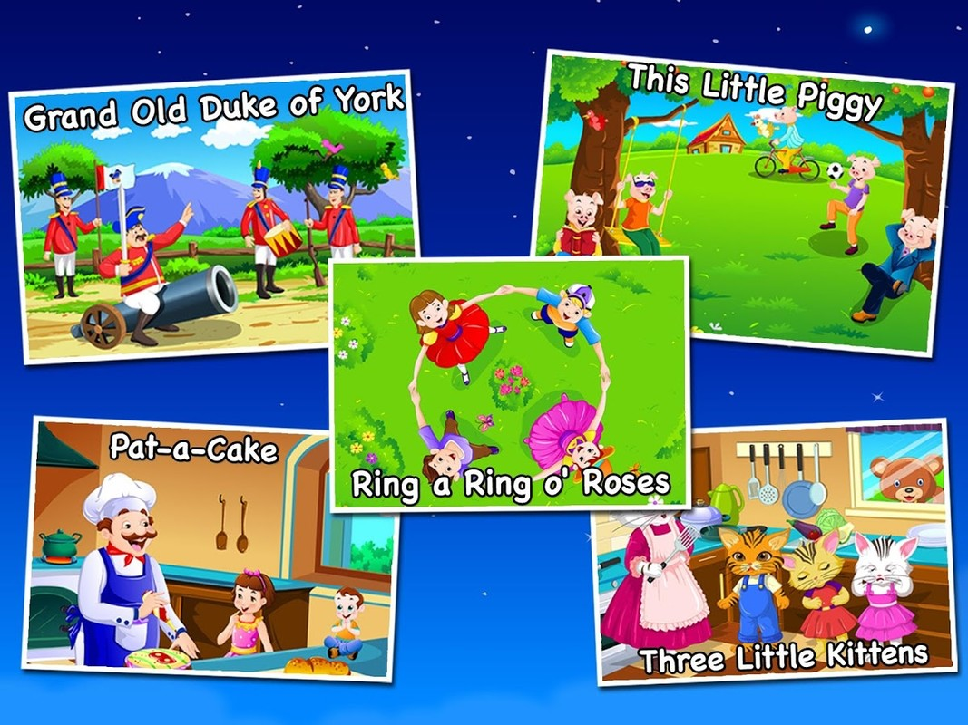 Nursery Rhymes For Kids APK Free Android App download - Appraw