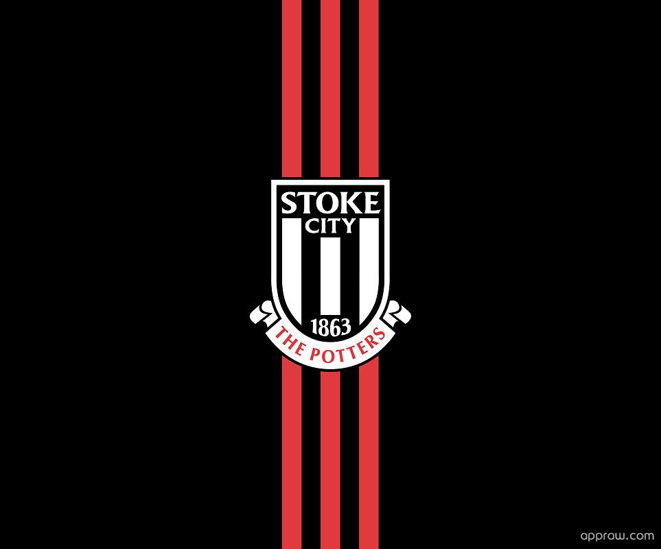 Stoke City Fc Black Red Wallpaper Download Stoke City Hd Wallpaper