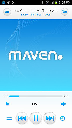 MAVEN Music Player (Pro) APK Free Android App download
