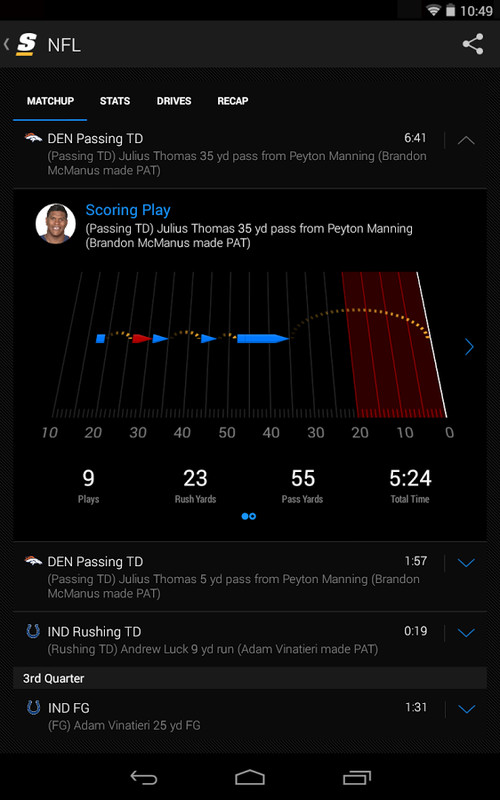 theScore: Sports & Scores APK Free Android App download ...