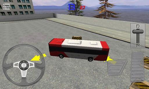 bus parking 3d games