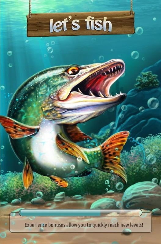 Let 39 s fish sport fishing apk free simulation android game for Sport fishing games