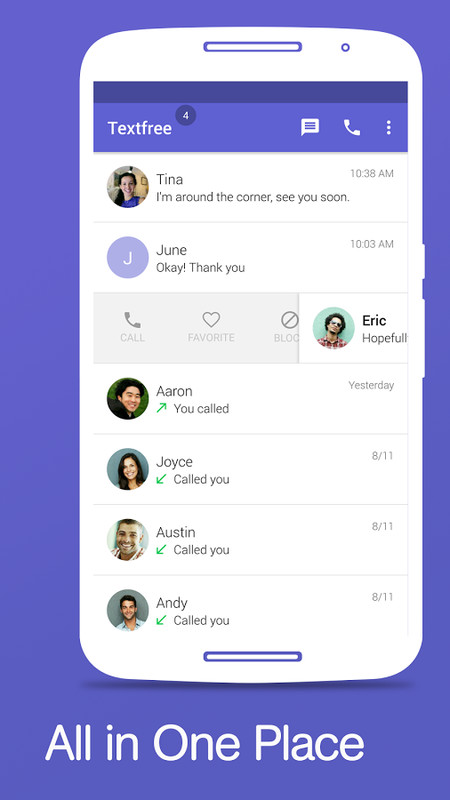 Text Free - Free Text + SMS APK Free Social Android App