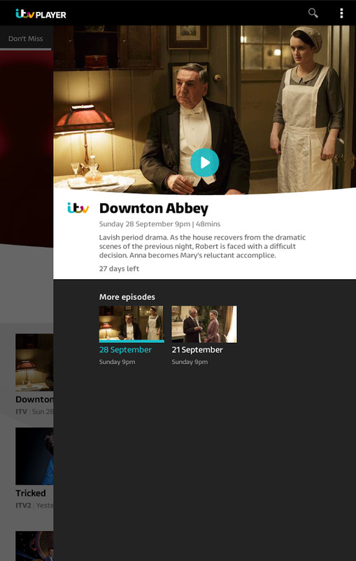 ITV Player APK Free Android App download - Appraw