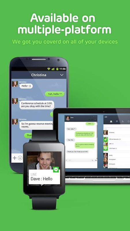 Read review on LINE: Free Calls & Messages for Android