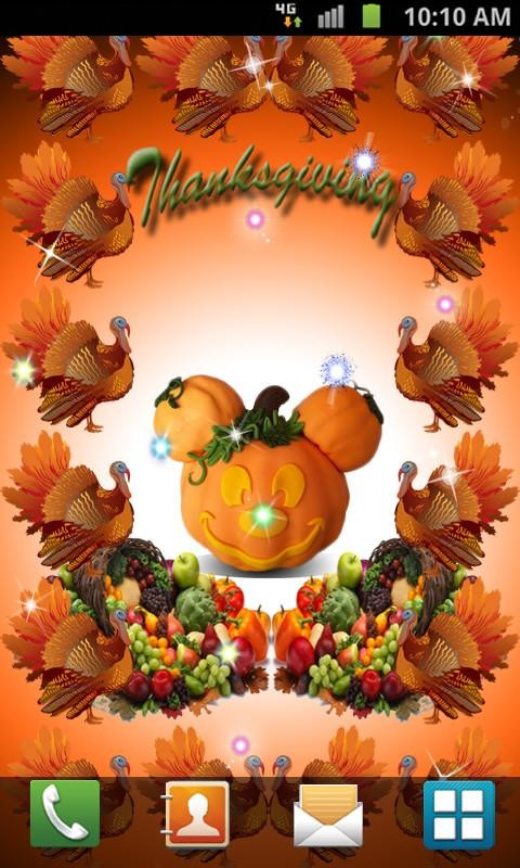Thanksgiving Live Wallpaper Free Android Live Wallpaper