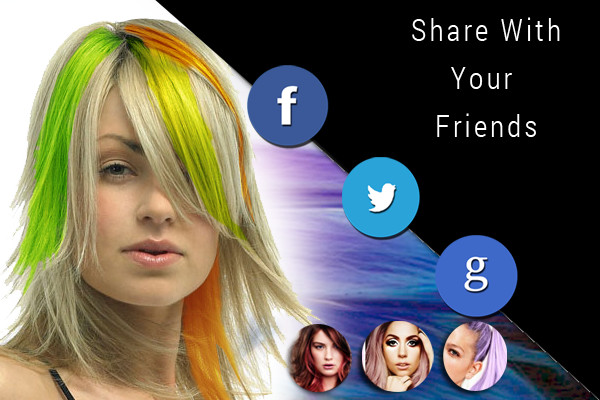 Brilliant Hair Color Booth Free On The App Store