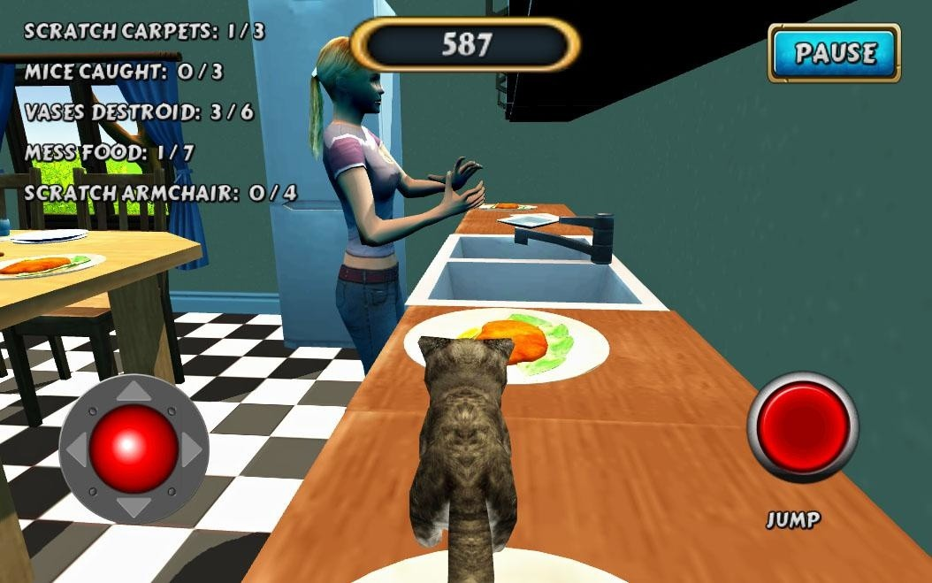 Cat Simulator Kitty Craft Apk Free Action Android Game