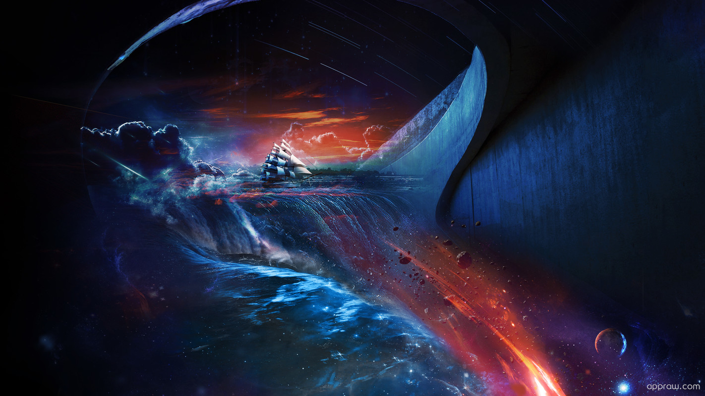 Abstract space ship wallpaper download space hd - Abstract space wallpaper ...