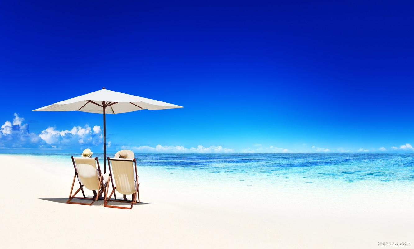 Пляж море обои для рабочего стола
