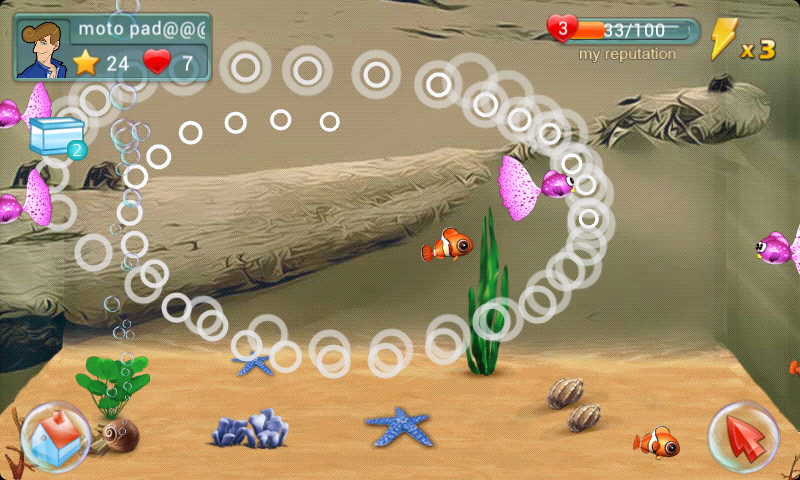 Fish live apk free family android game download appraw for Fish live game